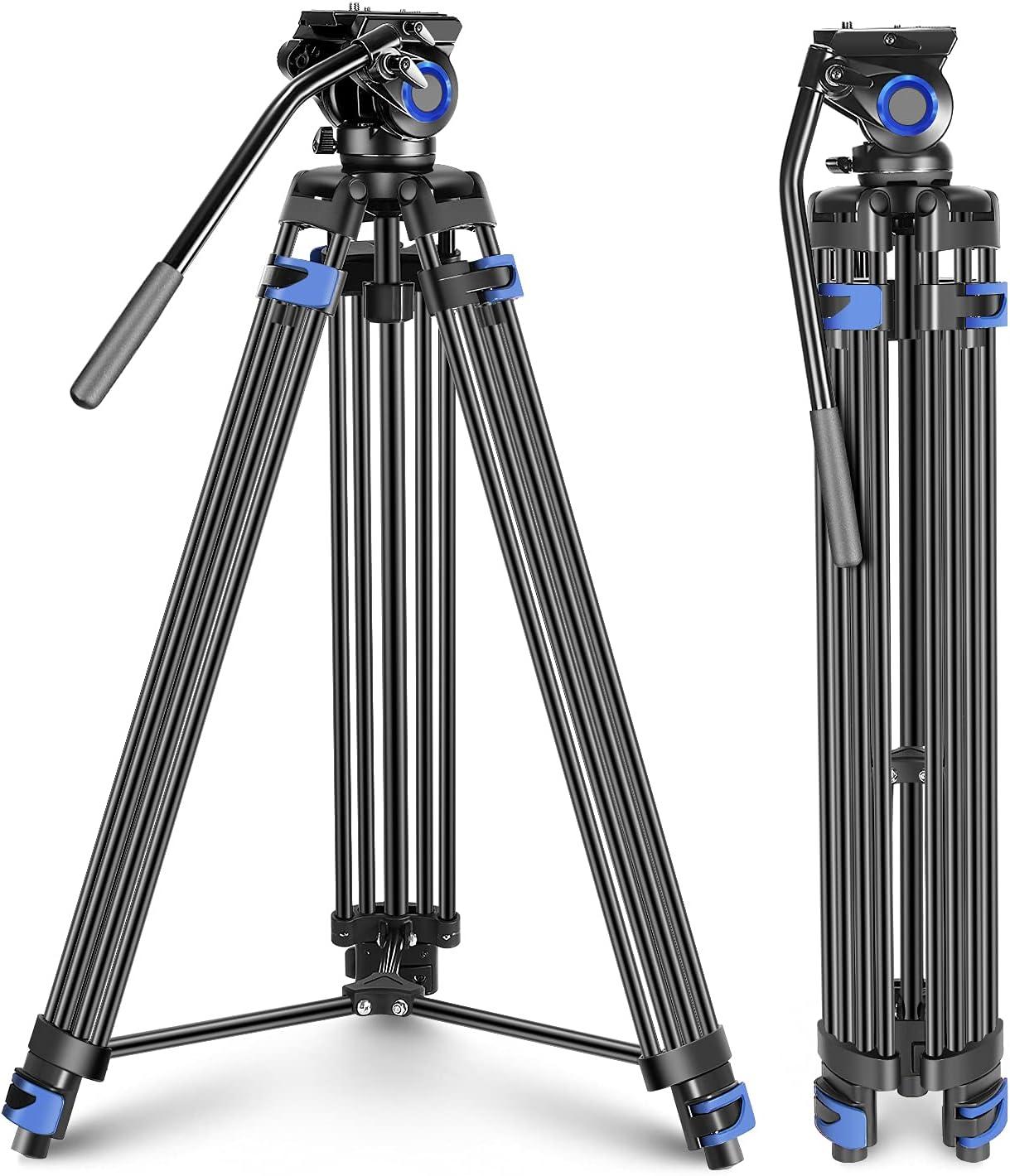 Neewer Max 43% OFF Professional Heavy Duty Video Aluminium Tripod 76-inch A Year-end gift