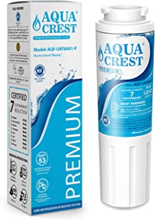 AQUACREST UKF8001 Refrigerator Water Filter, NSF 53&42 Certified, Compatible with Maytag UKF8001P, PUR Jenn-Air UKF8001AXX, Puriclean II, EveryDrop EDR4RXD1, Whirlpool 4396395, 469006, Filter 4