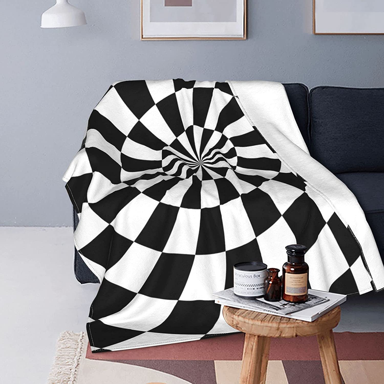 Max 42% OFF 50x60 inch Vortex Blanket Checkered Cozy Blankets Minneapolis Mall Flannel Throw