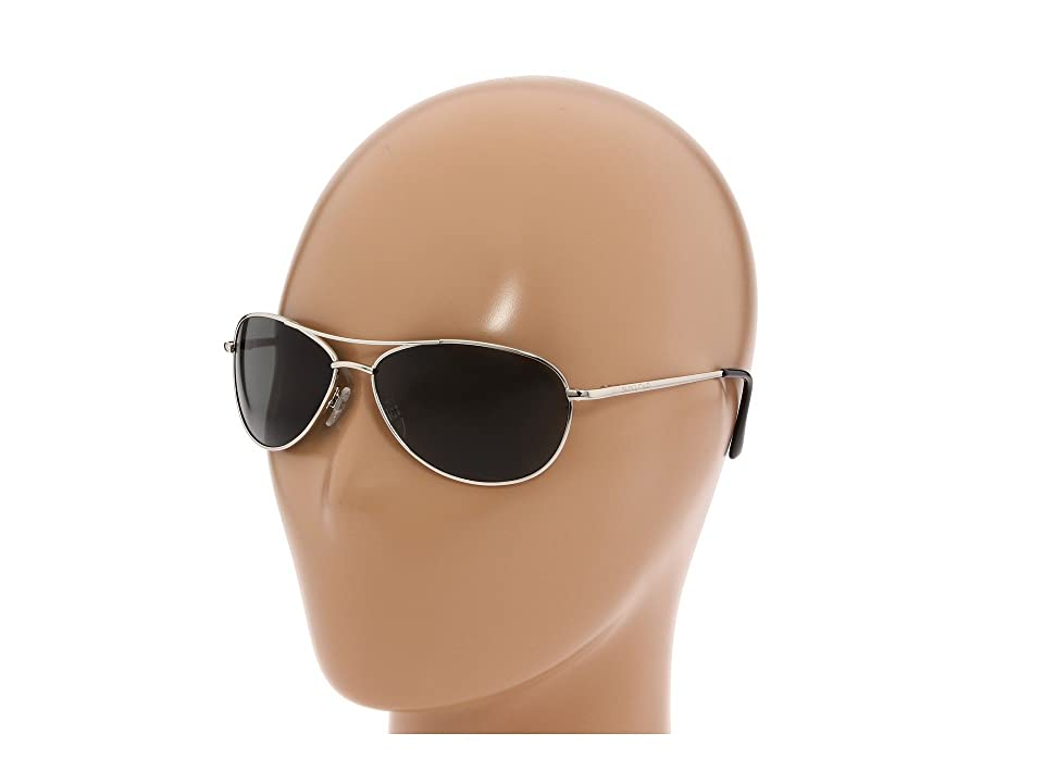 SunCloud Polarized Optics Patrol (Silver/Gray Polarized Lens) Sport Sunglasses