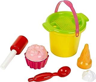 Theo Klein 7604 Klein goes BIO Ice Cream Set, 8 pcs, Suitable for Children from 18 Months, Multicolour