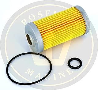 Poseidon Marine Fuel Filter kit for Yanmar 1GM 2GM 3GM RO: 104500-55710 24341-000440