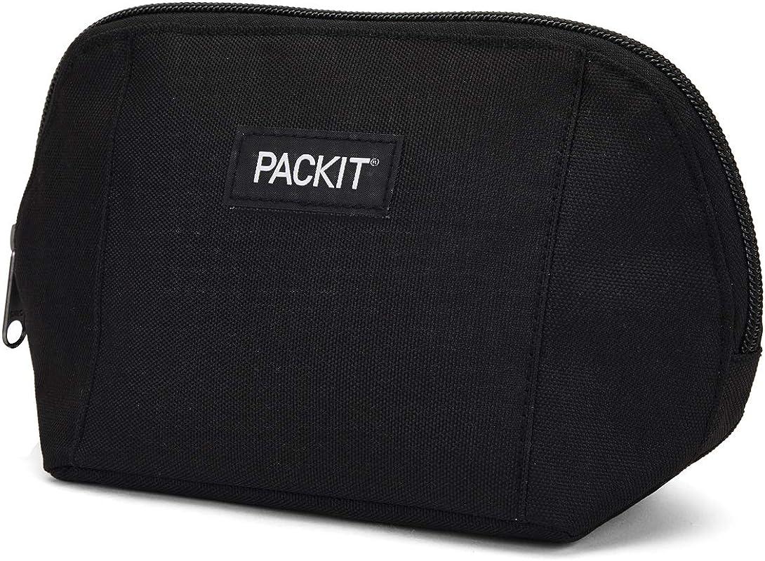 PackIt AMZ SN BAK Freezable Snack Bag Black
