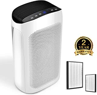 Air Choice Air Purifiers for Large Room - Air Purifier for Home with True HEPA Air Filter for Allergies and Pets, 495 sqft Coverage, Eliminates Pollen, Dust, Germs, Odors, Fumes and Fire Smoke