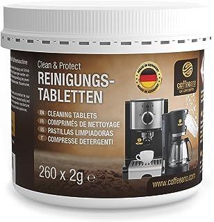 Coffeeano Clean&Protect Lot de 260 pastilles de nettoyage pour machines à café et machines à café automatiques Compatible ...