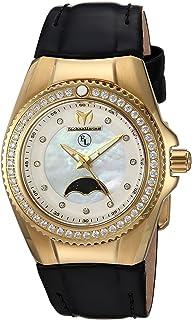 [テクノマリーン]TechnoMarine 腕時計 'Eva Longoria' Quartz GoldTone and Leather Casual TM-416020 レディース [並行輸入品]