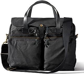 24 Hour Tin Cloth Briefcase - Black