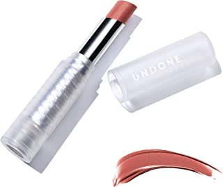 Light Reflecting, Lip Amplifying Lipstick. Sheer, Buildable, Hydrating Color - UNDONE BEAUTY Light On Lip. Aloe, Coconut & Volume Enhancing Pigment. Paraben, Vegan & Cruelty Free. GOSH GARNET