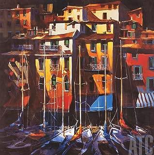 ArtToCanvas 36W x 36H inches : Porto Venere by Michael O'Toole - Paper Print ONLY