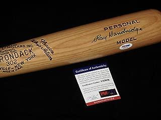 Ray Dandridge Signed Baseball Bat - Adirondack hall Of Fame) - ! - PSA/DNA Certified - Autographed MLB Bats