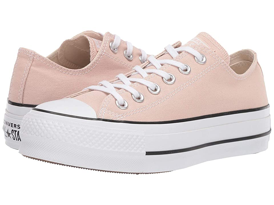 Converse Chuck Taylor(r) All Star(r) Seasonal Color Lift Ox (Particle Beige/White/Black) Women