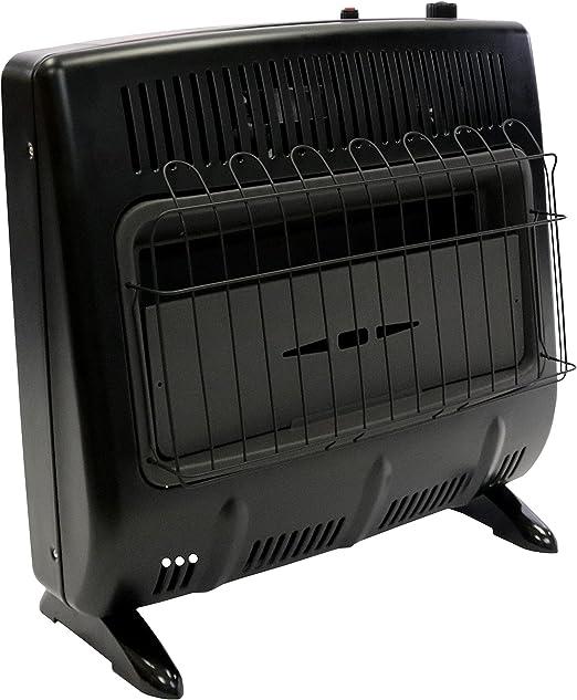 Mr. Heater Vent-Free 30,000 BTU Natural Gas Garage Heater - Black Multi: image