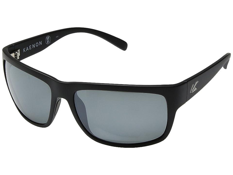 5cd4fd13fc9 Kaenon Redding (Black Label Grey 12-Polarized Black Mirror) Athletic  Performance Sport Sunglasses