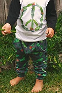 Dusty Road Apparel Organic Children's Pants | Baby | Toddler | Tropical Byron Play Pant
