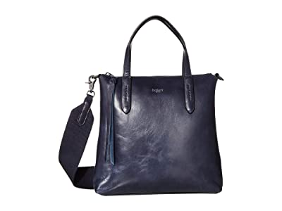 Botkier Highline Satchel (Navy) Handbags