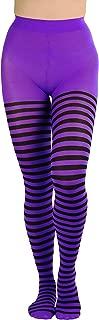 Women's Nylon Horizontal Striped Tights