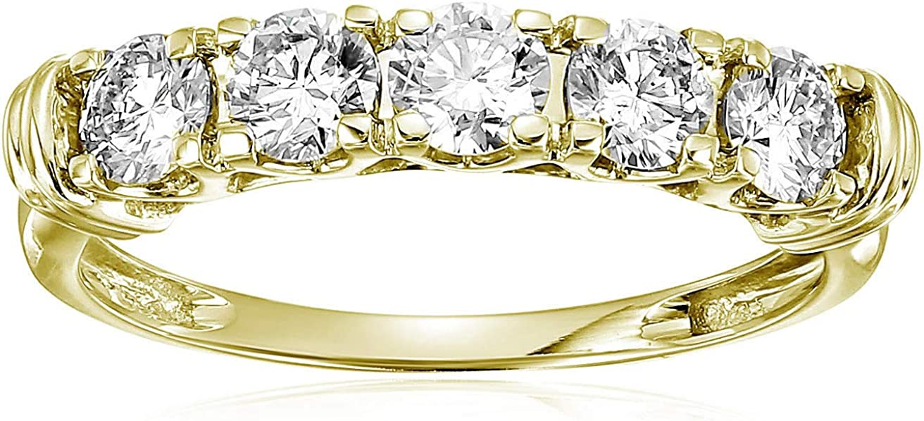 Vir Jewels 1 cttw Certified SI2-I1 5 Branded goods Ring Stone Diamond Ranking TOP8 14K Whit