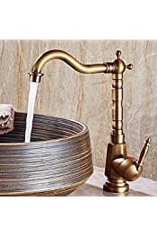 Yadianna Kitchen Faucet Smooth and Refined Friendly Design Modern Sink Pull Out Spray Tap Faucet Chrome Basin Mixer Brass for Kitchen Bathroom Water Filter