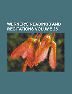 Werner's Readings and Recitations Volume 25