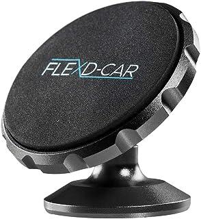 FLEXD X Auto Handyhalterung Magnet Stark Handyhalter fürs Auto magnetisch Smartphone Halterung im Set KFZ360° (Schwarz)