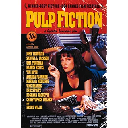 PULP FICTION Movie PHOTO Print POSTER Film Art Quentin Tarantino Uma Thurman 001