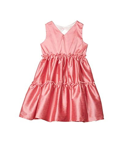 fiveloaves twofish Three Tier Dress (Little Kids/Big Kids) (Coral) Girl