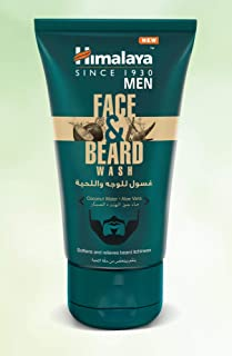 Himalaya Men Face and Beard Wash 80 ml, Softens and relieves beard itchiness