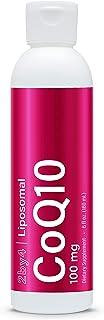 CoQ10 Ubiquinol Antioxidant Supplement Liquid - Sunflower Lecithin Liposomal for Heart Health, Anti-Aging, Cellular Energy...