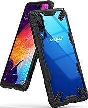 Ringke Fusion-X Diseñado para Funda Samsung Galaxy A50, Funda Galaxy A50s, Funda Galaxy A30s, Protección Resistente Impactos TPU + PC Carcasa Galaxy A50 / A50s / A30s - Black