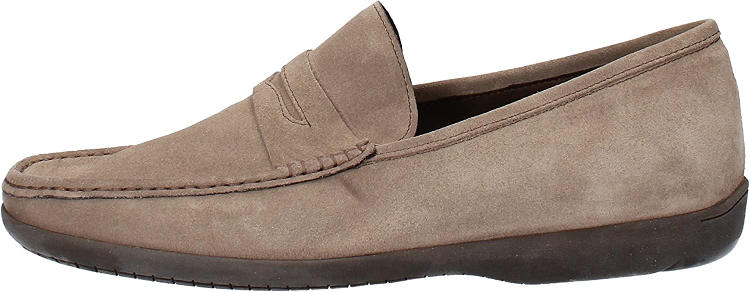 CALPIERRE Loafers-shoes Mens Suede Beige