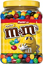 An Item Of M&M's Peanut Chocolate Candy Pantry Size plastic Jar (62 Oz.) Pack Of