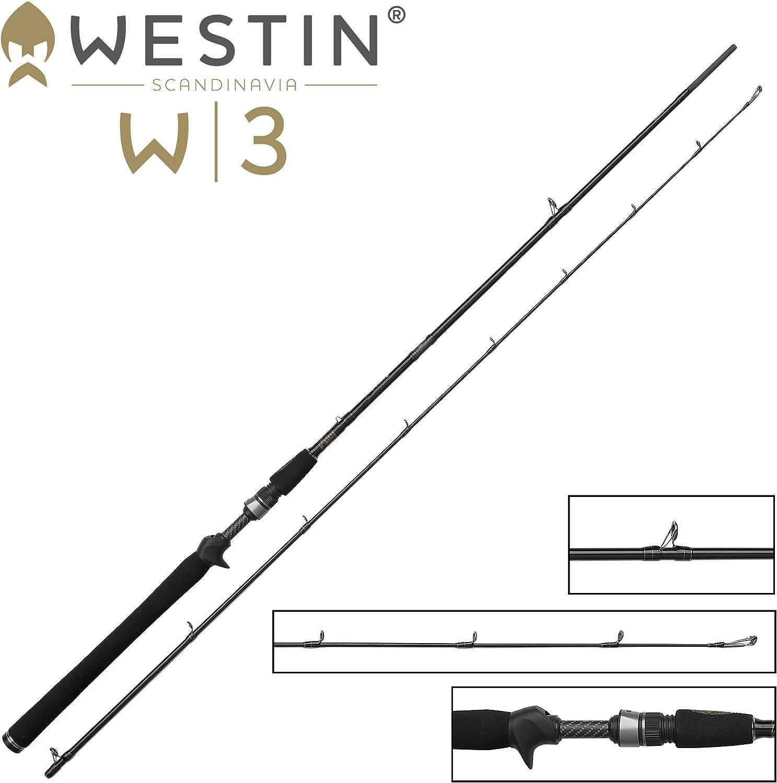 Westin W3 Grünical Jigging-T XH 188cm 28-52g - Spinnrute zum Grünikalangeln auf Hecht, Zander & Barsch, Grünikalrute, Spinnangel