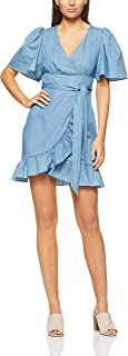 Cooper St Women's Gleam Tie Waist Mini Dress Gleam Tie Waist Mini Dress