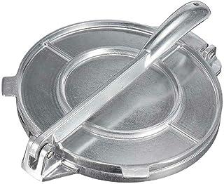qianele Cast Aluminum Tortilla Press Heavy Duty Mold Press for Flour Corn Flatbread Pita Press Tortillas /& Tacos Maker