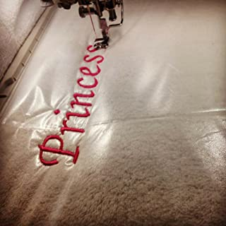 simthread 水溶性のシート 刺繍用接着芯 裁縫セット 大人 シールタイプ 刺しゅう糸 ミシン糸 収納 ミシン用  刺しゅう糸用  刺繍用接着芯  裁縫用刺しゅう接着芯 ミシン刺繍用接着芯 刺しゅう安定紙 高級接着芯ソフト 布地用接着芯 ...