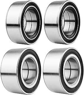 GaofeiLTF Front and Rear Wheel Bearings Fit for Polaris Ranger RZR 800/ RZR S 800 /RZR 4 800 2010-2015, Replaces Polaris Part # 3514699 3514635, 4pcs