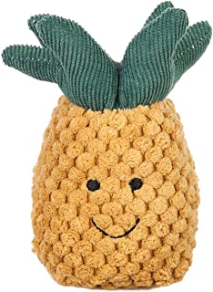 Apricot Lamb Baby Pineapple Soft Rattle Toy, Plush Stuffed Animal for Newborn Soft Hand Grip Shaker Over 0 Months (Pineapp...