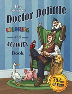 The Story of Doctor Dolittle Coloring and Activity Book