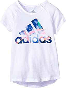 adidas Kids - Goals Raglan Tee (Big Kids)