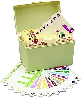 Smead AlphaZ NCC Color-Coded Labels, Letters A-Z, Assorted Colors, 1500 Labels per Pack (67150)