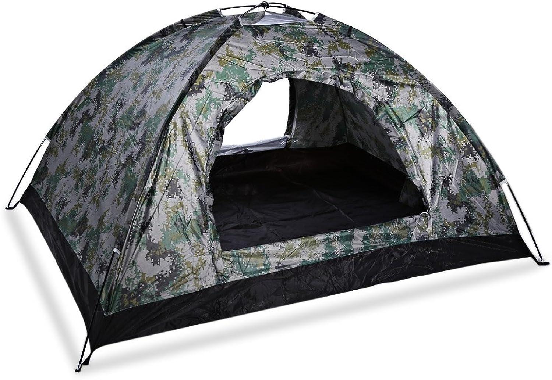 ShopSquare64 Campingzelt für 4 Personen, faltbar, faltbar, faltbar, doppellagig, UV- und Strand-Sonnenschutz B07L7R1S3F  Trend 915708