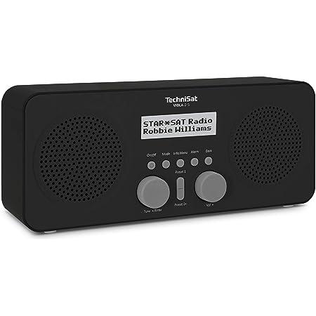Technisat Viola 2 S Tragbares Dab Radio Dab Ukw Wecker Stereo Lautsprecher Kopfhöreranschluss Aux In Zweizeiliges Display Tastensteuerung 4 Watt Rms Schwarz Heimkino Tv Video