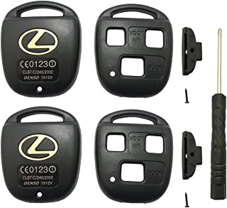 Replacement Remote Key Shell Case Cover fits for Lexus ES GS GX IS LS LX RX SC ES300 ES330 GS300 GS400 GS430 GX470 IS300 L...