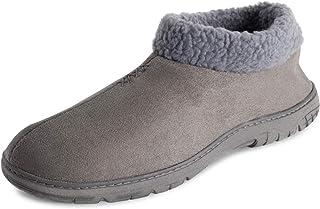 Polar Mens Memory Foam Cozy Winter Rubber Sole Warm Plush Luxury Outdoor House Fleece Lined Slipper