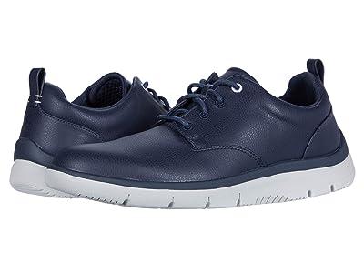 Clarks Tunsil Lane (Dark Blue Synthetic) Men