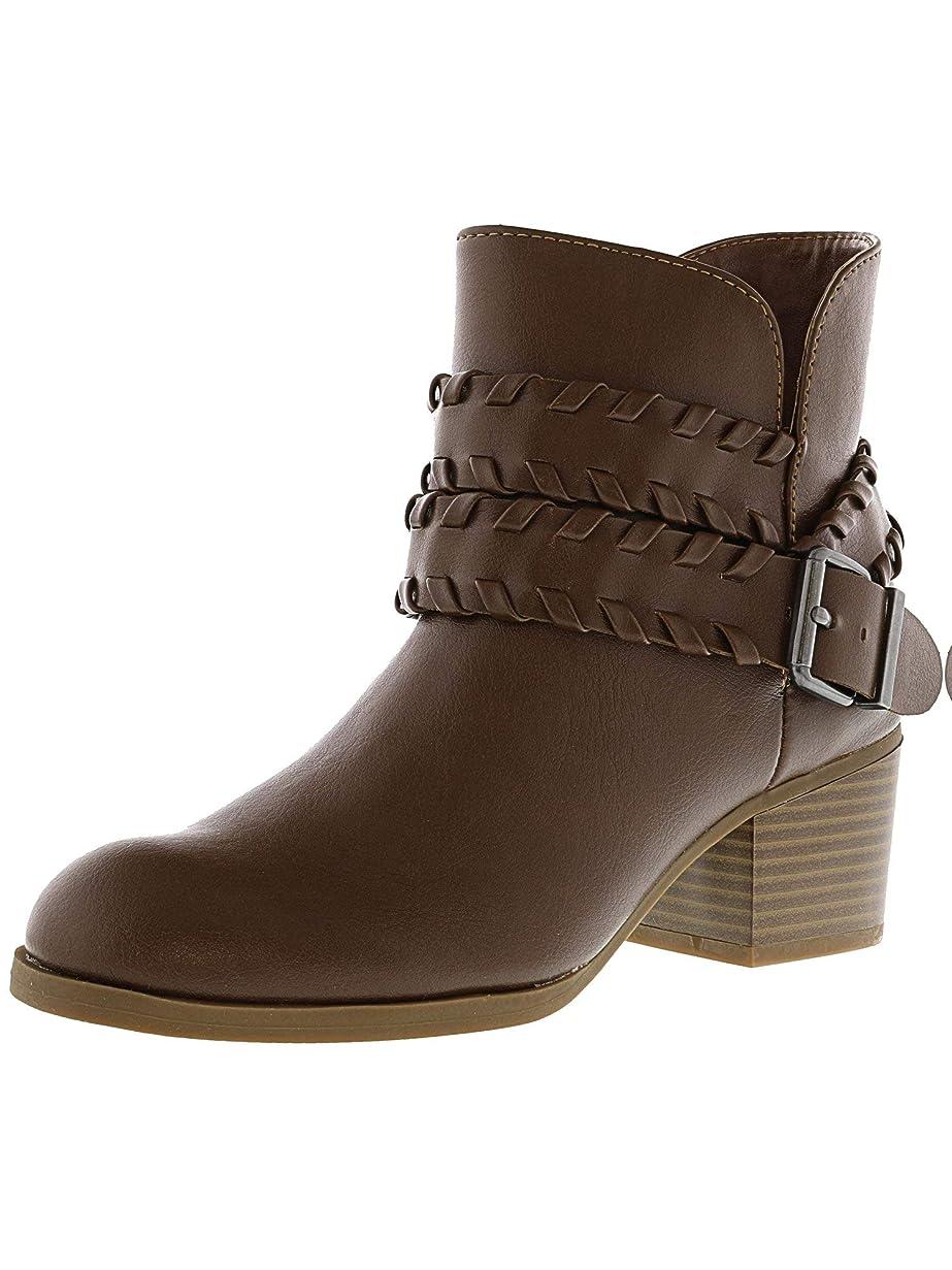 レーニン主義キャビン背景Style & Co. Womens Dyanaa Closed Toe Fashion Boots, Brown, Size 9