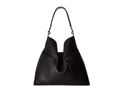 Botkier Trigger Hobo (Black) Hobo Handbags