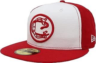 New Era 59Fifty Hat Chivas De Guadalajara Retro Liga MX White/Red Fitted Cap