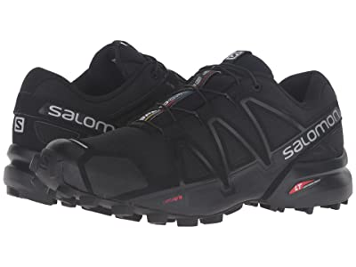 Salomon Speedcross 4 (Black/Black/Black Metallic) Women