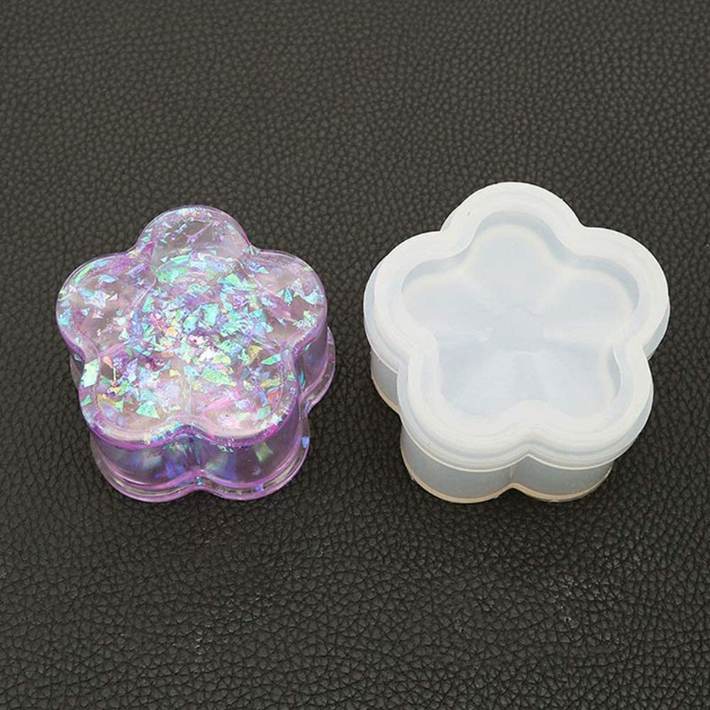 MAOXI Resin Silicone Seattle Mall Mold Funny Mould Cut 100% quality warranty! Shape Heart Creative
